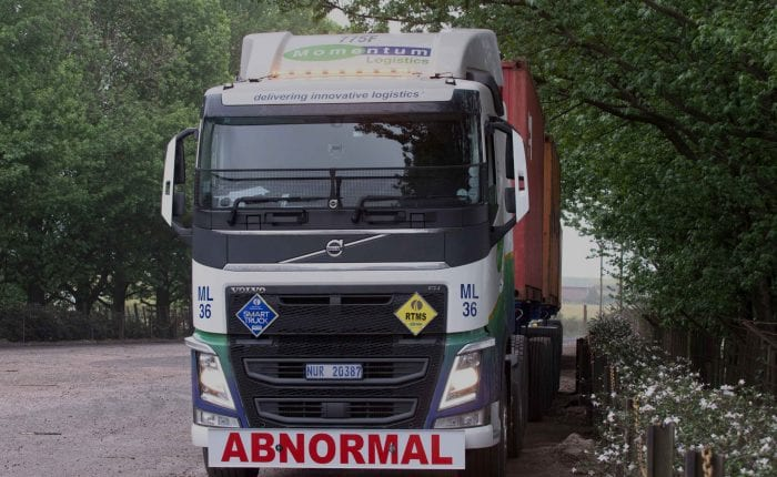 Momentum Logistics Truck